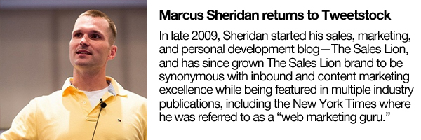Marcus Sheridan Returns